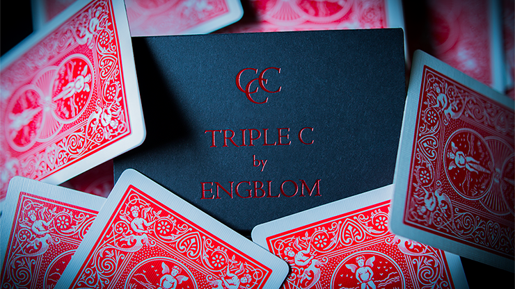 Triple C (Red Gimmicks and Online Instructions) by Christian Engblom - Trick