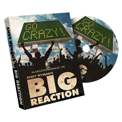 Big Reaction (DVD and Gimmicks) by Andy Nyman & Alakazam  UK - Tricks